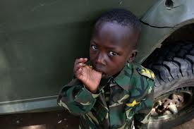 Sports can help reintegrate child soldiers into society
